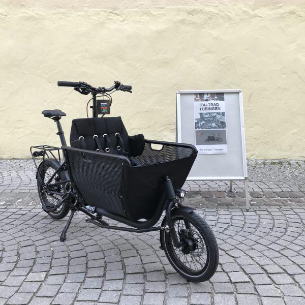 E-Muli Lastenrad in black